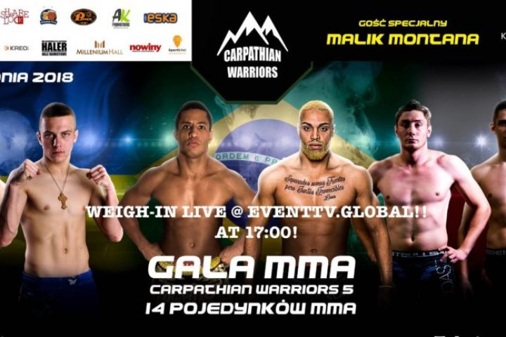 Carpathian Warriors 5 / WEIGH-IN / LIVE @ 18:00!