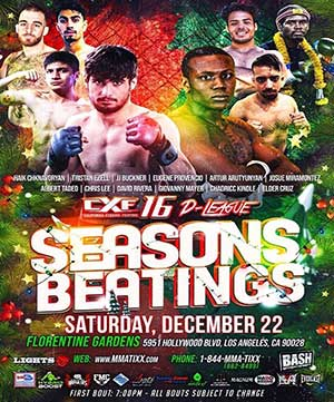 CXF 16 - LIVE ON 22ND DECEMBER! PPV